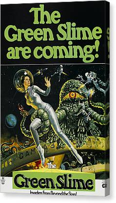 The Green Slime, 1968 Canvas Print