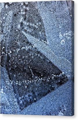 The Ice Canvas Print by Odon Czintos