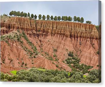 The Imlil Valley, Morocco Canvas Print by Bob Gibbons