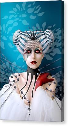 The Keeper Canvas Print by Ausra Kel
