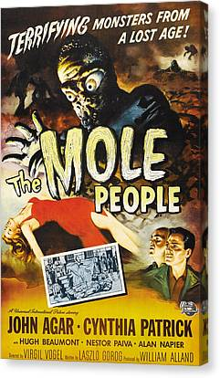 The Mole People, 1956 Canvas Print