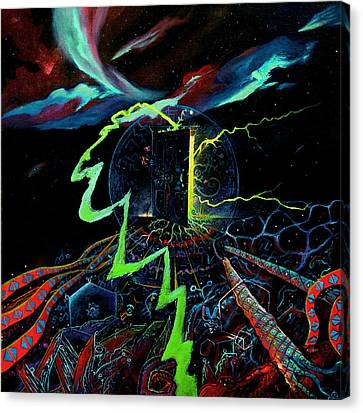 The Navigator Part 3 Canvas Print by Steve Griffith