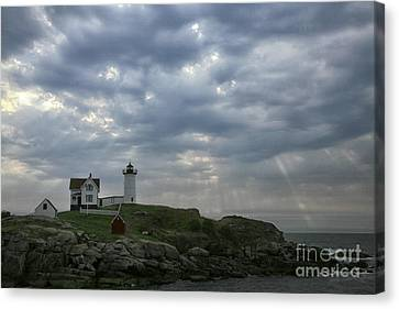 The Nubble Canvas Print by Timothy Johnson