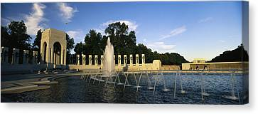 The Pacific Pavilion And Pillars Canvas Print