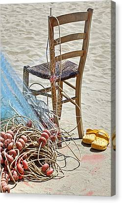 The Place Of The Fisherman Canvas Print by Joana Kruse