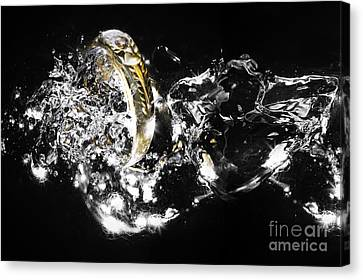 The Ring Canvas Print by Herry Sugianto