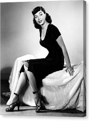 The Sniper, Marie Windsor, 1952 Canvas Print