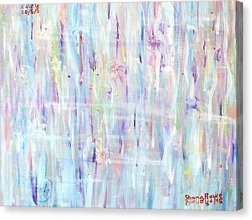 The Sounds Of Rain Canvas Print by Shana Rowe Jackson