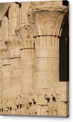 The Tops Of The Pillars Of The Temple Canvas Print by Taylor S. Kennedy