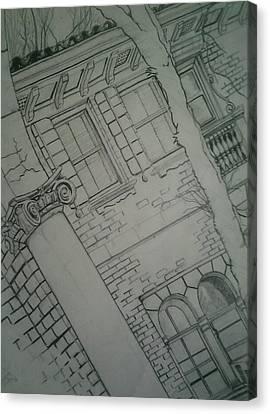 The View Canvas Print by Nzephany Madrigal Uzoka