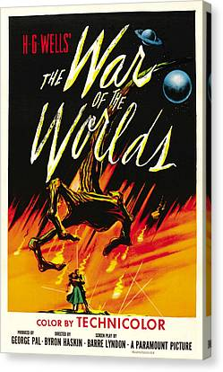 The War Of The Worlds, 1953 Canvas Print