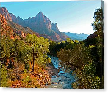 The Watchman II Canvas Print
