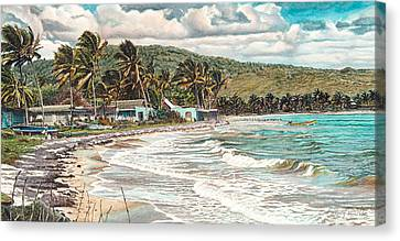 The Water Front   Canvas Print by Gregory Jules