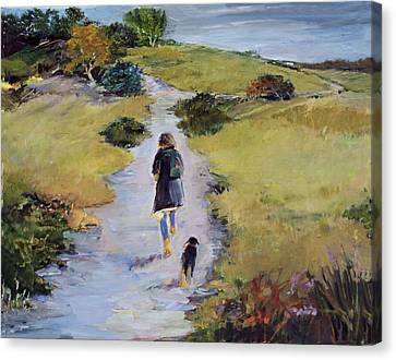 The Way Home Canvas Print by Diane Ursin