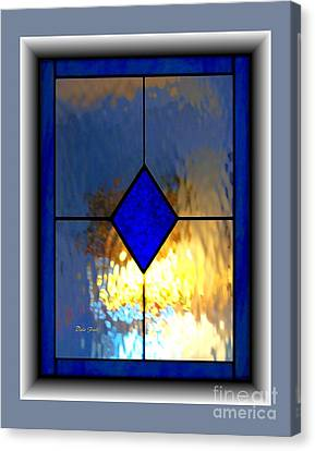 The Window Canvas Print by Dale   Ford