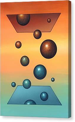 Thermodynamics, Conceptual Artwork Canvas Print by Richard Bizley