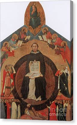 Thomas Aquinas, Italian Philosopher Canvas Print by Photo Researchers