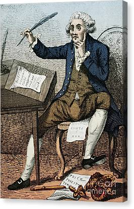 Thomas Paine, American Founding Father Canvas Print by Photo Researchers
