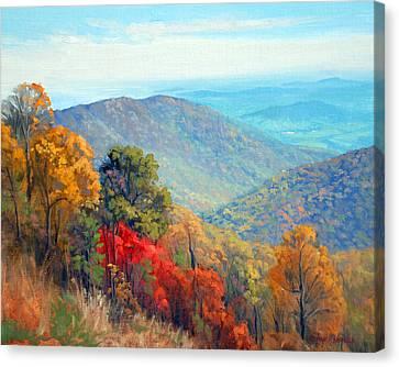 Thornton Gap Canvas Print