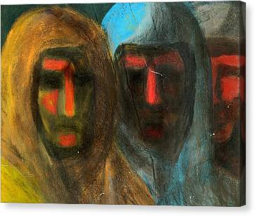 Three Figures Canvas Print by Chester