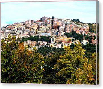 Tivili Italy Canvas Print by Mindy Newman