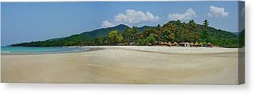 Tokey Beach Sierra Leone Canvas Print by Hussein Kefel