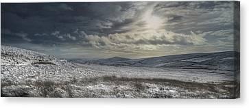 Towards Gradbach Canvas Print by Andy Astbury