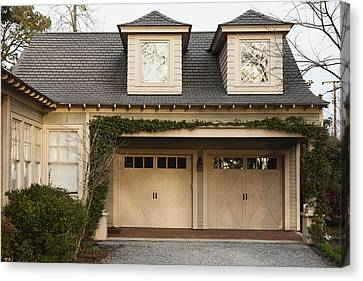 Traditional Residential Home And Double Canvas Print by Roberto Westbrook