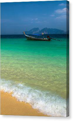 Tropical Paradise Canvas Print by Adrian Evans