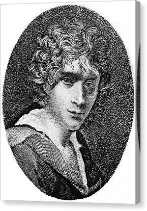 Aodng Canvas Print - Ugo Foscolo (1778-1827) by Granger