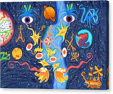 Uni Eye Canvas Print by Alfonso  Furrer