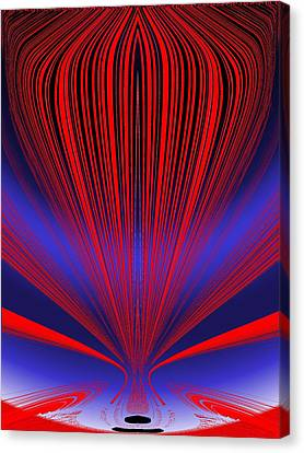 Up Up And Away Canvas Print by Tim Allen