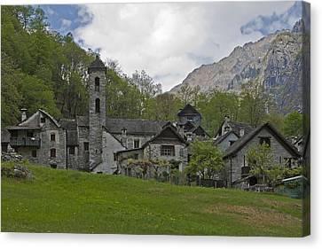 Valle Bavona - Ticino Canvas Print by Joana Kruse