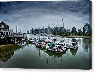 Vancouver Canada Canvas Print by Scott Holmes