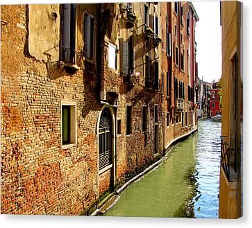 Venice Canvas Print by Barbara Walsh
