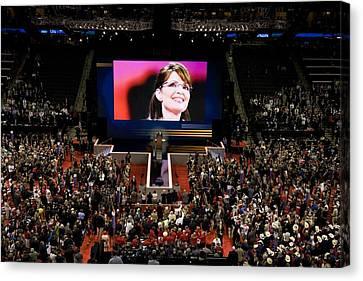 Vice Presidential Candidate Sarah Palin Canvas Print