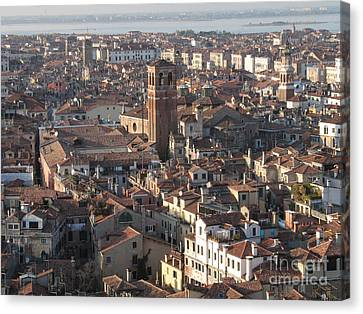 Serenisim Canvas Print - View Of Venice by Bernard Jaubert