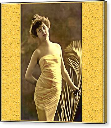 Canvas Print featuring the photograph Vintage Enchantment by Mary Morawska