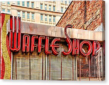 Waffle Shop Canvas Print by Christopher Holmes