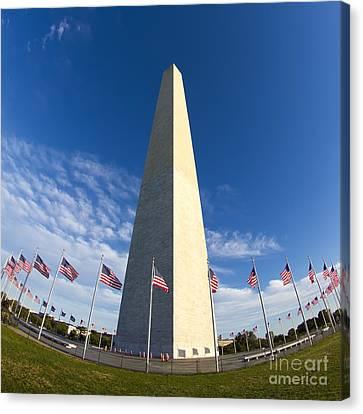 Washington Monument Canvas Print by Dustin K Ryan