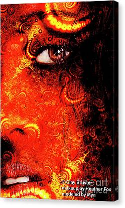 Clayton Canvas Print - Watchful Spirit by Clayton Bruster