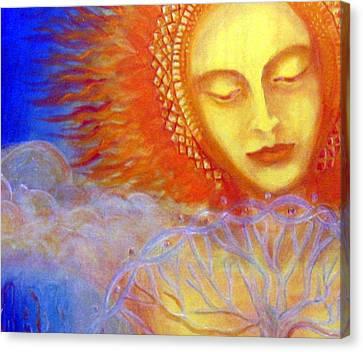 Water Life Blood  Canvas Print by Janelle Schneider