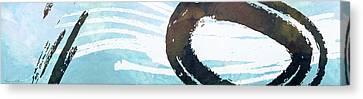 Water Stone Canvas Print by Nomi Elboim