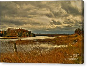 Waters Edge Canvas Print by Alana Ranney