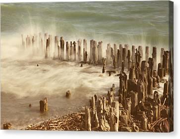 Waves Canvas Print by Joana Kruse