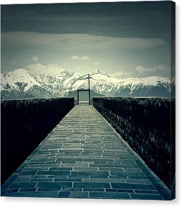 Way To Heaven Canvas Print by Joana Kruse