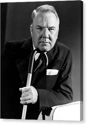 W.c. Fields, Paramount Pictures, 1934 Canvas Print