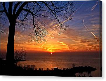 Welcome A New Day Canvas Print by Theo Tan
