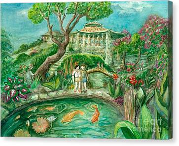 We're In Wonderland Canvas Print by Lynn Maverick Denzer