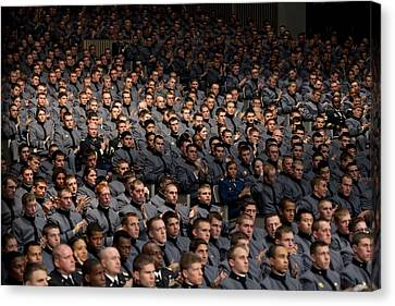 West Point Cadets Applaud President Canvas Print